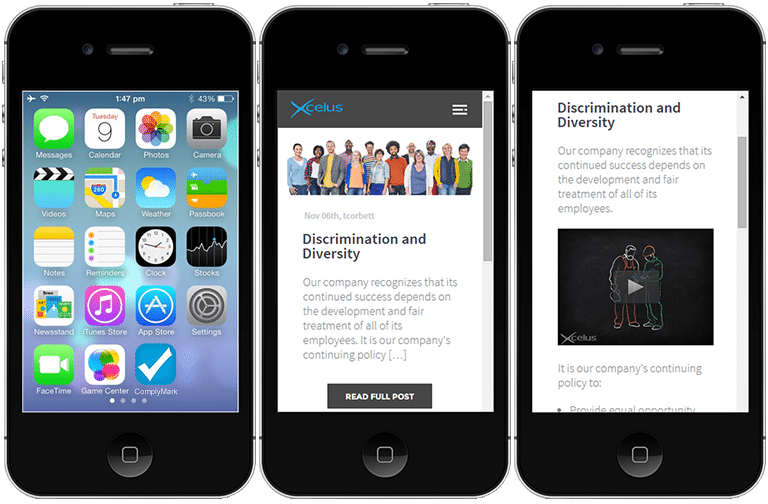 Complymark Mobile App